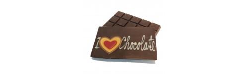 Tablettes en chocolat